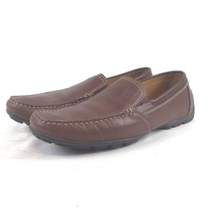 GEOX RESPIRA Brown Slip-On Shoes Size 42 / 9